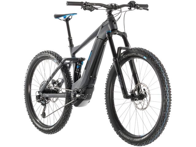 Cube Stereo Hybrid 140 Race 500 E-MTB fullsuspension grå (2019) | City-cykler